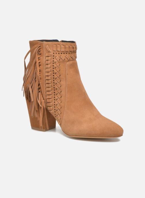 Bottines et boots Rebecca Minkoff Ilan Marron vue détail/paire