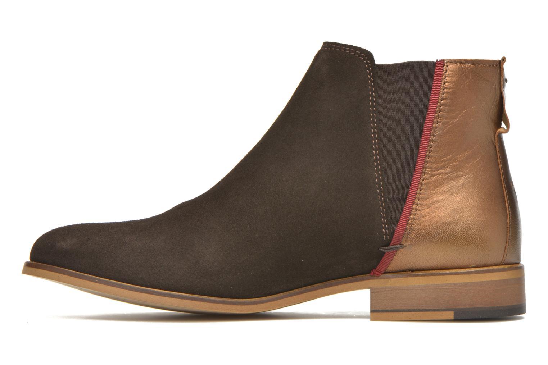 Bottines et boots Faguo Cherry Marron vue face