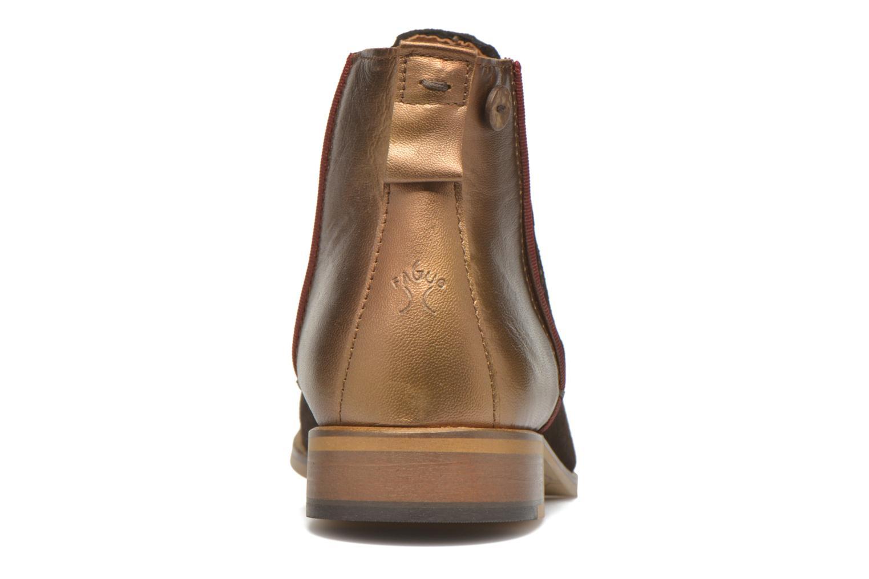 Bottines et boots Faguo Cherry Marron vue droite