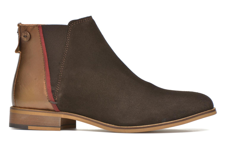 Bottines et boots Faguo Cherry Marron vue derrière
