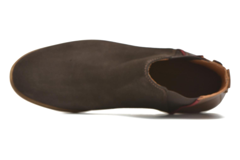 Bottines et boots Faguo Cherry Marron vue gauche