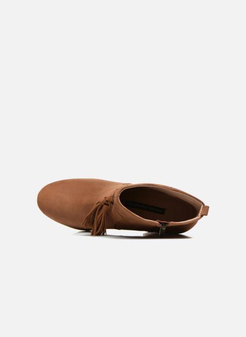 Stiefeletten & Boots French Connection Linds braun ansicht von links