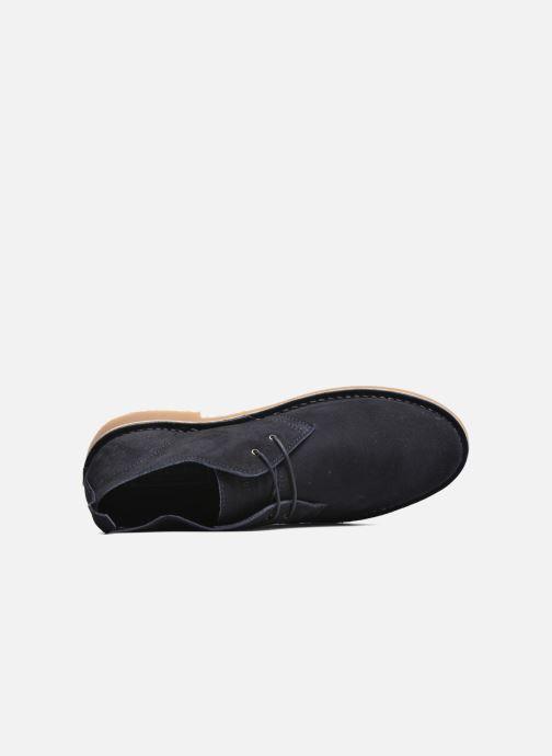 Scarpe con lacci Jack & Jones JJ Gobi Suede Desert Boot Azzurro immagine sinistra