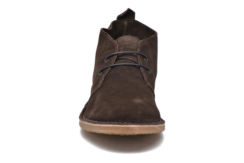 Lace-up shoes Jack & Jones JJ Gobi Suede Desert Boot Brown model view