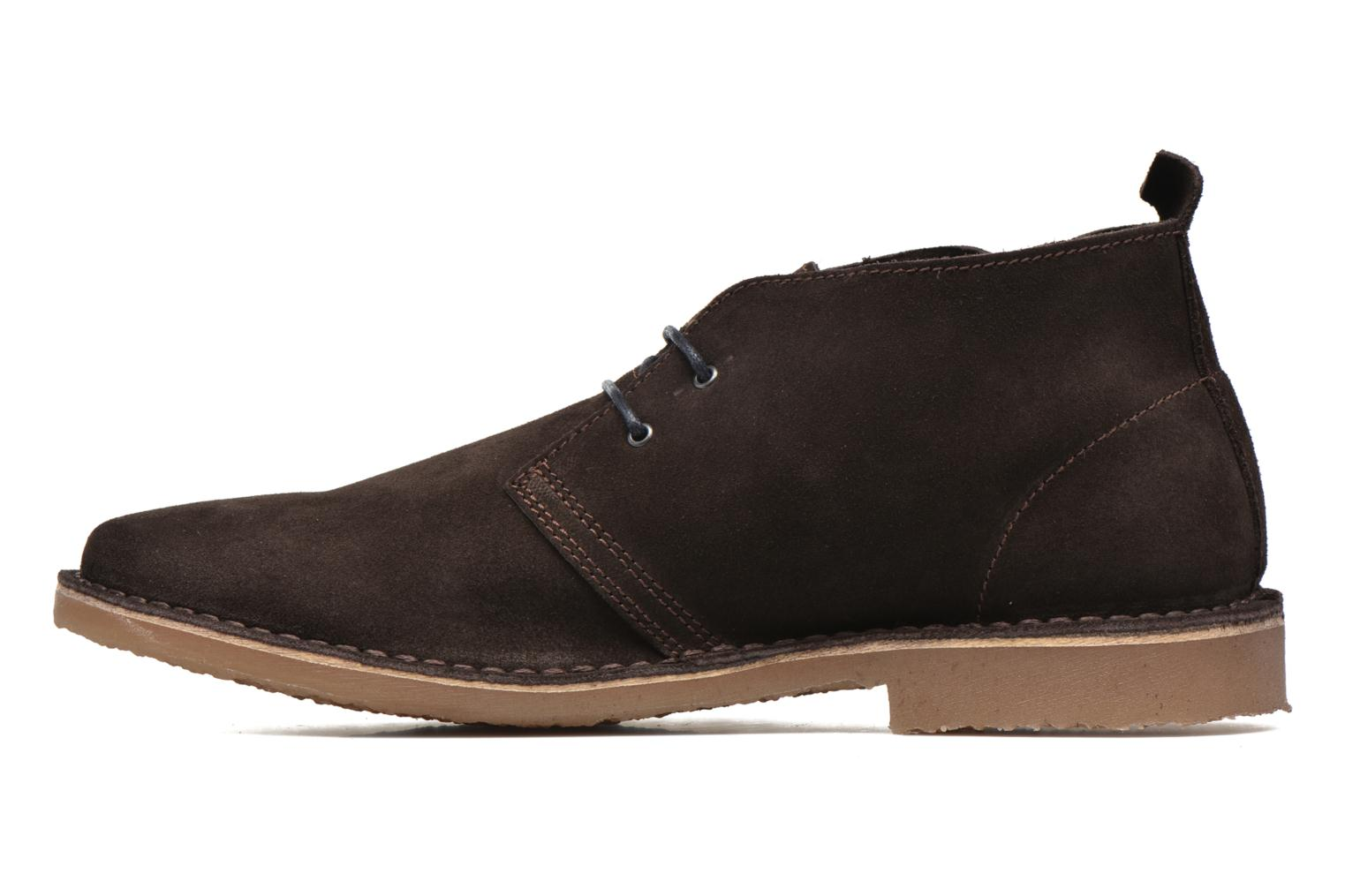 Chaussures à lacets Jack & Jones JJ Gobi Suede Desert Boot Marron vue face