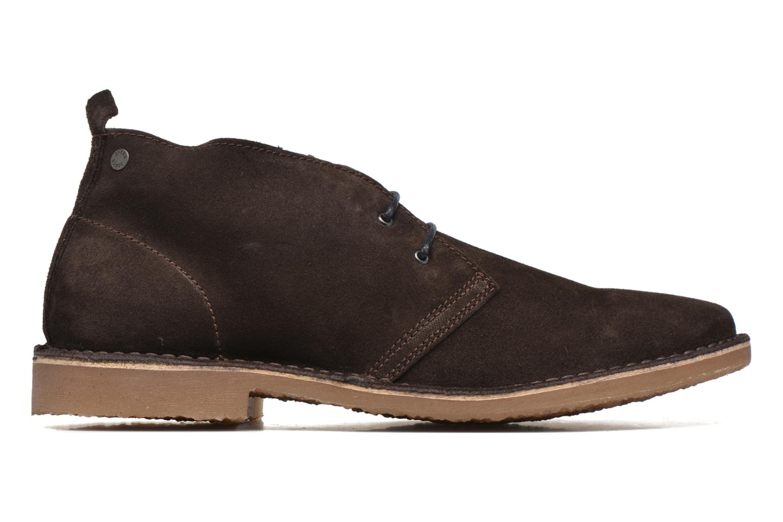 Lace-up shoes Jack & Jones JJ Gobi Suede Desert Boot Brown back view