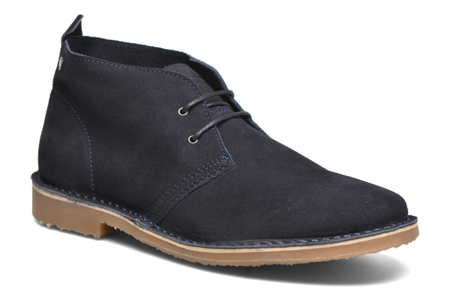 Lace-up shoes Jack & Jones JJ Gobi Suede Desert Boot Blue detailed view/ Pair view