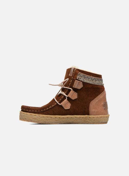 Bottines et boots Laidback London Annick Marron vue face