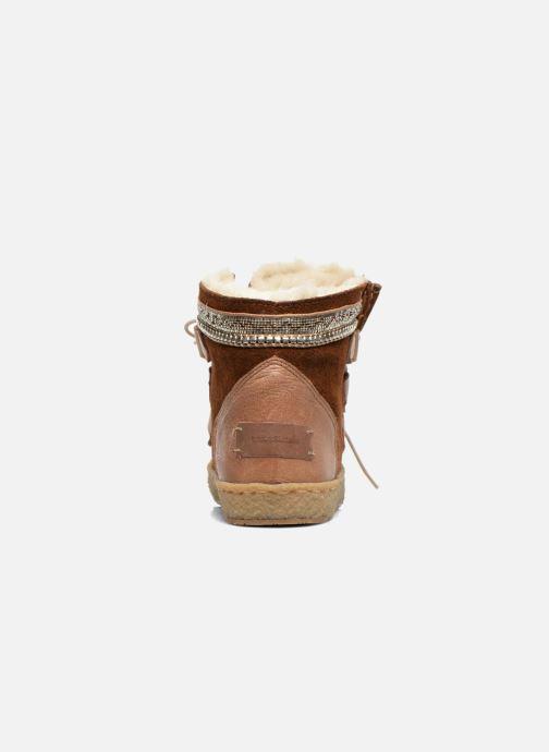 Bottines et boots Laidback London Annick Marron vue droite