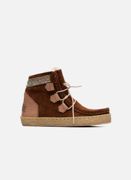 Bottines et boots Laidback London Annick Marron vue derrière