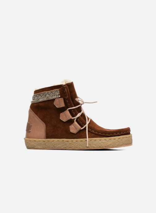 Boots en enkellaarsjes Laidback London Annick Bruin achterkant