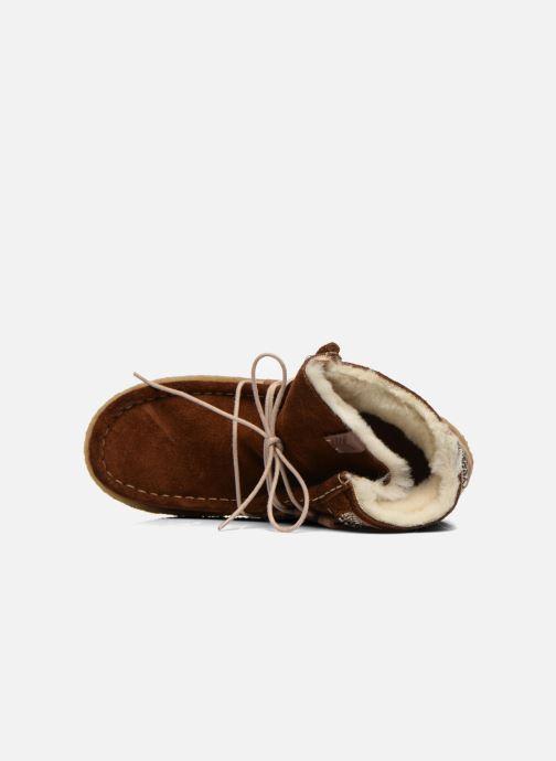 Bottines et boots Laidback London Annick Marron vue gauche