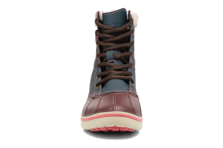Bottines et boots Crocs AllCast Waterproof Duck Boot W Multicolore vue portées chaussures