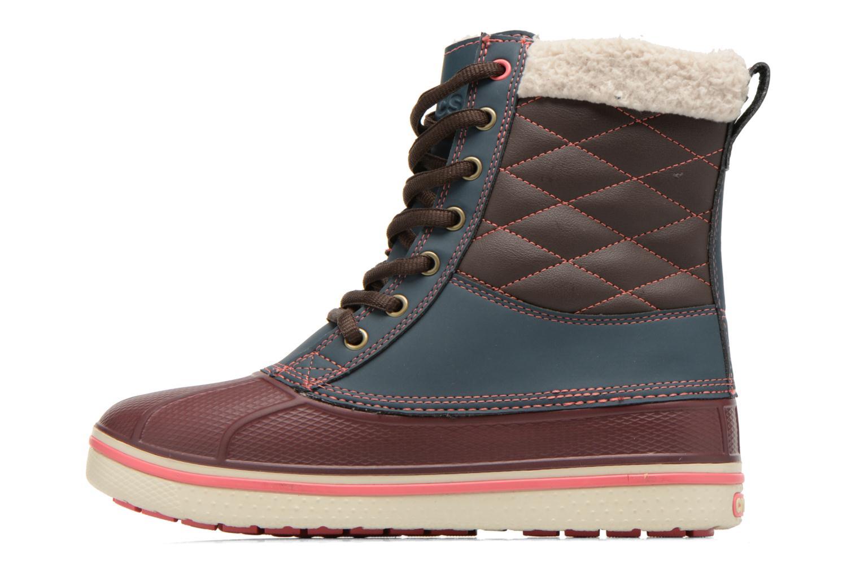 Bottines et boots Crocs AllCast Waterproof Duck Boot W Multicolore vue face