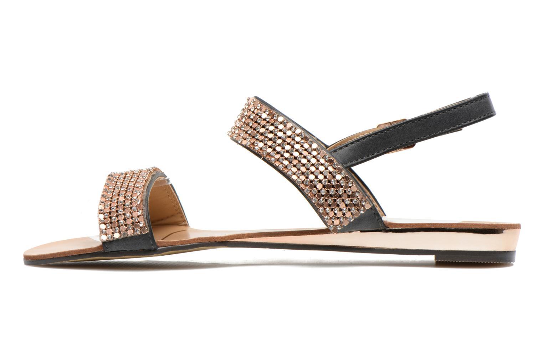 Sandales et nu-pieds Divine Factory Venupa Noir vue face