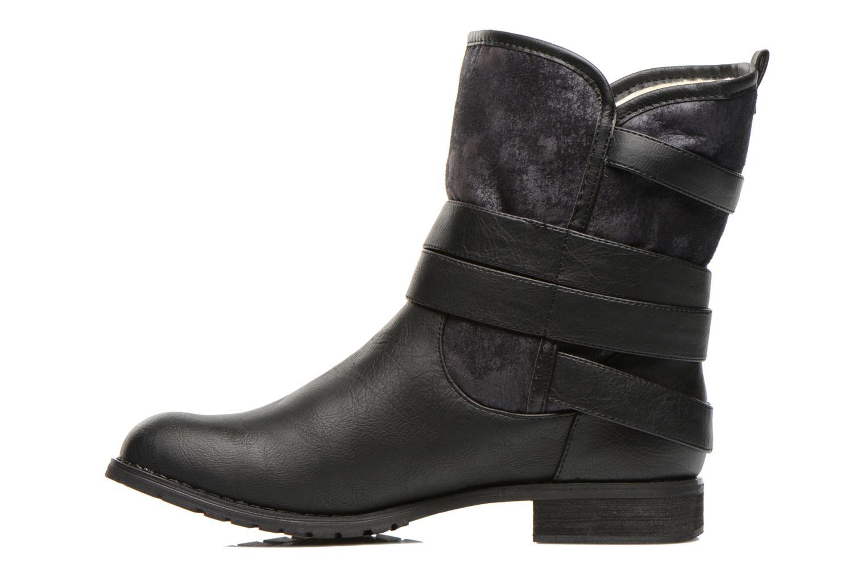 Bottines et boots Kaporal Ricky Noir vue face