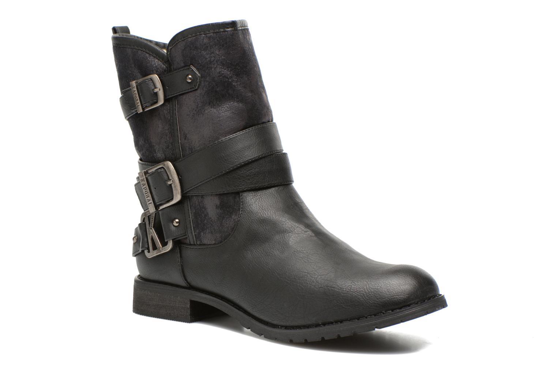 Bottines et boots Kaporal Ricky Noir vue détail/paire