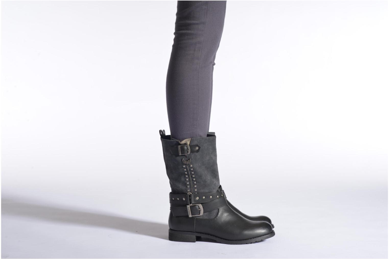 Bottines et boots Kaporal Risko Noir vue bas / vue portée sac