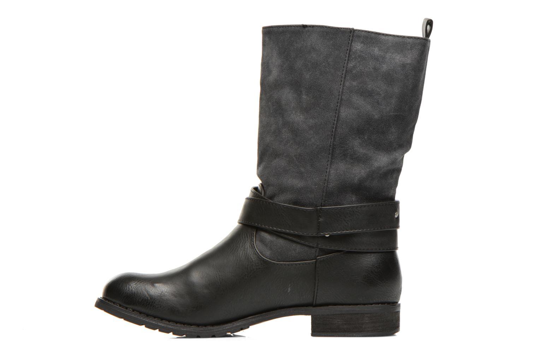 Bottines et boots Kaporal Risko Noir vue face