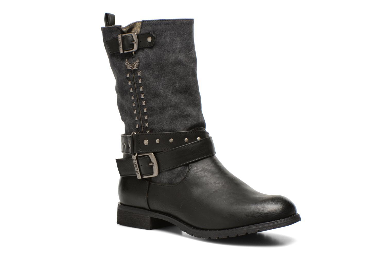 Bottines et boots Kaporal Risko Noir vue détail/paire