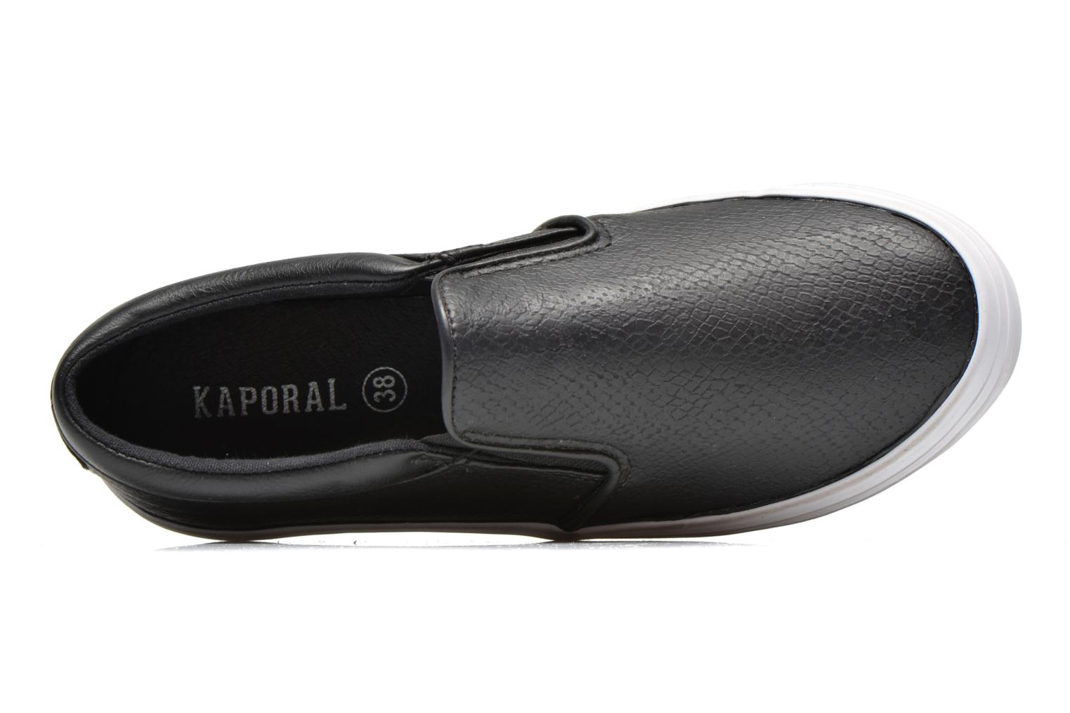 Trainers Kaporal Flexy Black view from the left