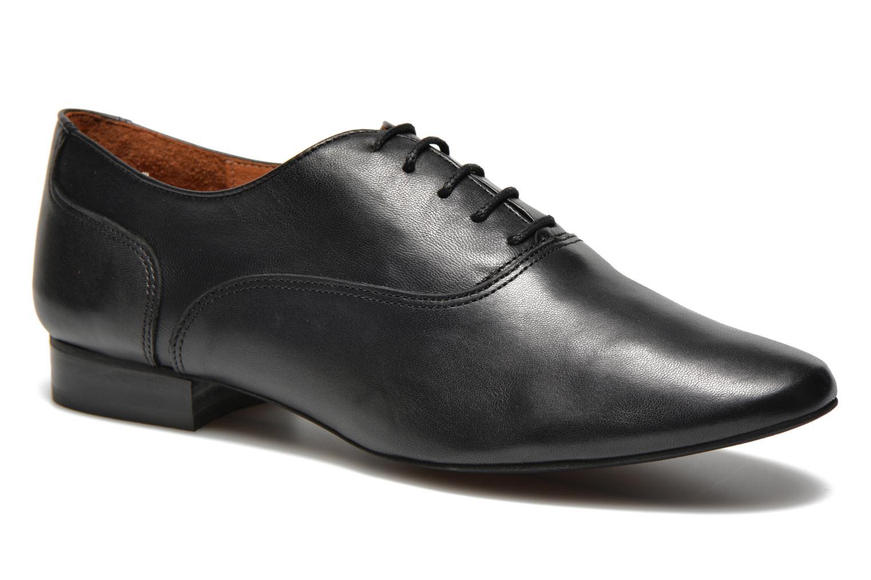 Chaussures à lacets COSMOPARIS Viani Noir vue détail/paire