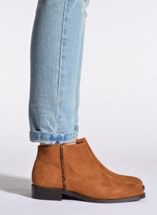 Boots en enkellaarsjes COSMOPARIS Vonella Bruin onder