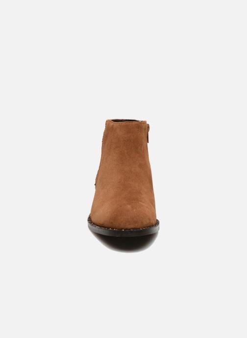 Boots en enkellaarsjes COSMOPARIS Vonella Bruin model