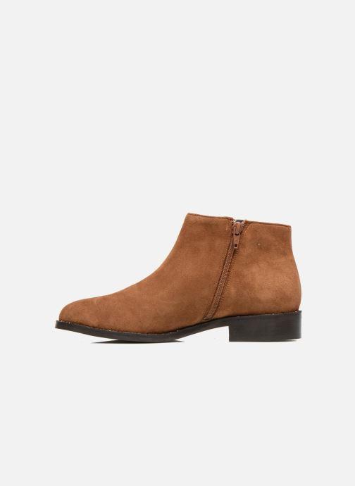 Boots en enkellaarsjes COSMOPARIS Vonella Bruin voorkant