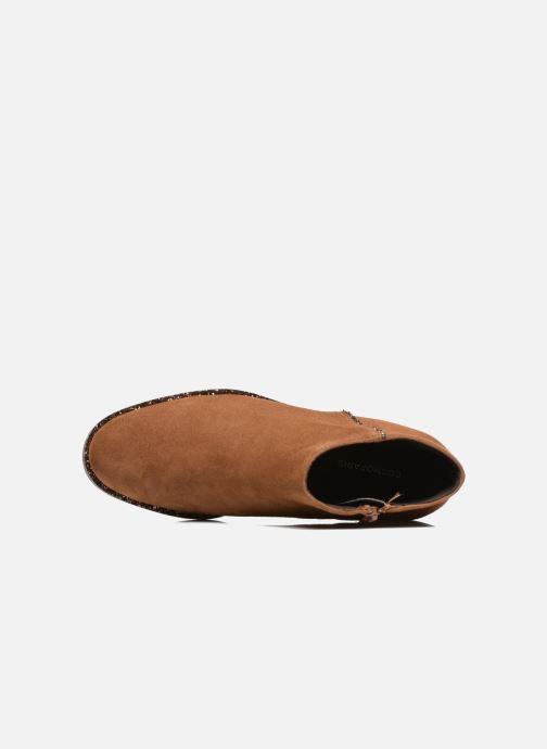 Boots en enkellaarsjes COSMOPARIS Vonella Bruin links
