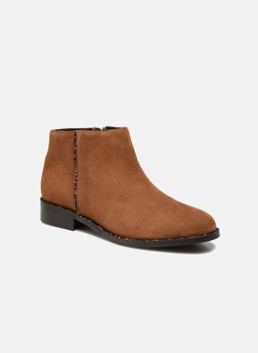 Boots en enkellaarsjes COSMOPARIS Vonella Bruin detail
