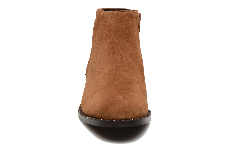 Bottines et boots COSMOPARIS Vonella Marron vue portées chaussures