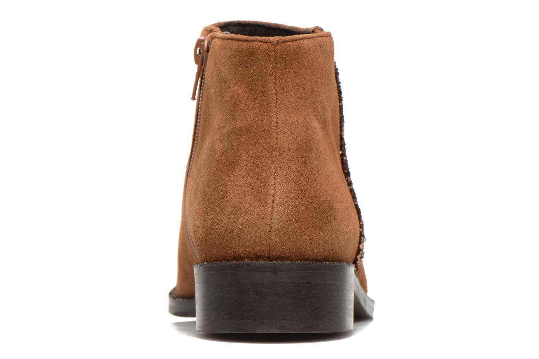 Bottines et boots COSMOPARIS Vonella Marron vue droite