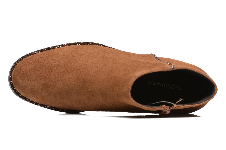 Bottines et boots COSMOPARIS Vonella Marron vue gauche