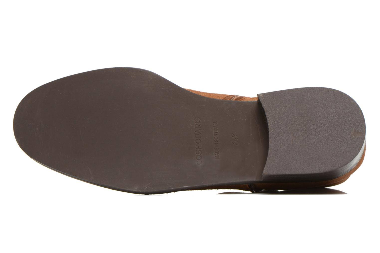 Bottines et boots COSMOPARIS Vonella Marron vue haut