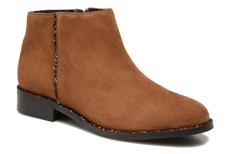 Bottines et boots COSMOPARIS Vonella Marron vue détail/paire