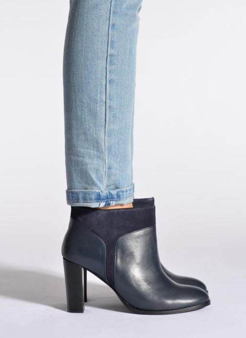 Stiefeletten & Boots COSMOPARIS Valaya/bi blau ansicht von unten / tasche getragen