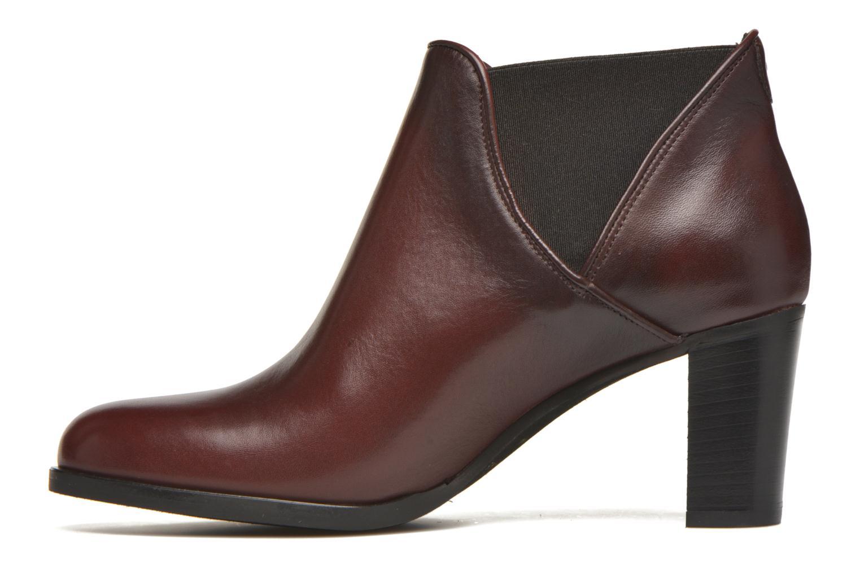 Bottines et boots COSMOPARIS Bamia Bordeaux vue face