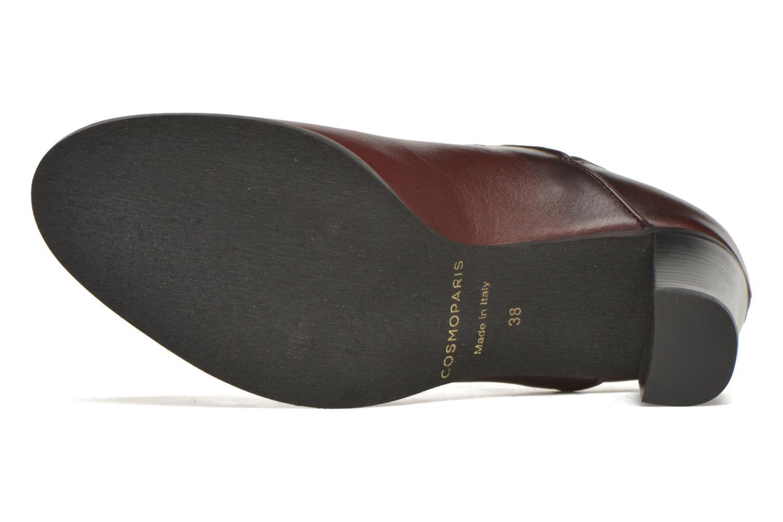 Bottines et boots COSMOPARIS Bamia Bordeaux vue haut
