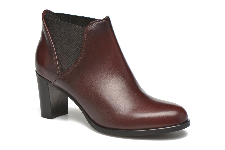 Bottines et boots COSMOPARIS Bamia Bordeaux vue détail/paire