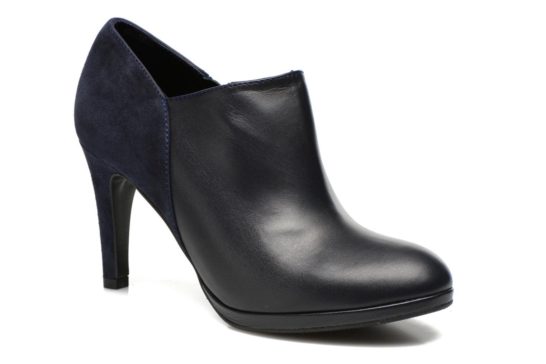 Bottines et boots COSMOPARIS Malay/bi Bleu vue détail/paire
