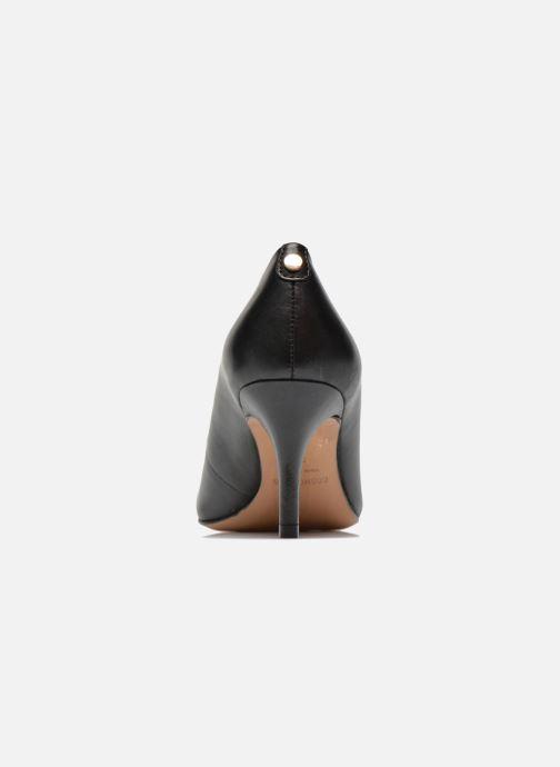 Zapatos de tacón COSMOPARIS Jennie Negro vista lateral derecha