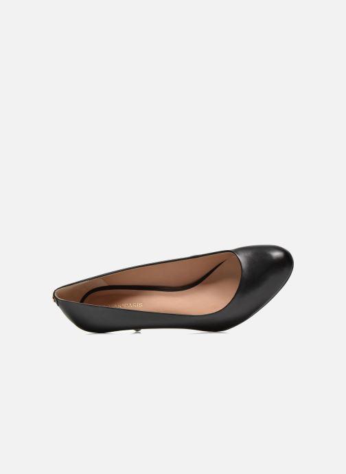 Zapatos de tacón COSMOPARIS Jennie Negro vista lateral izquierda