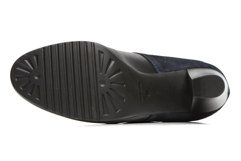 Chaussures à lacets COSMOPARIS Leffi/bi Bleu vue haut