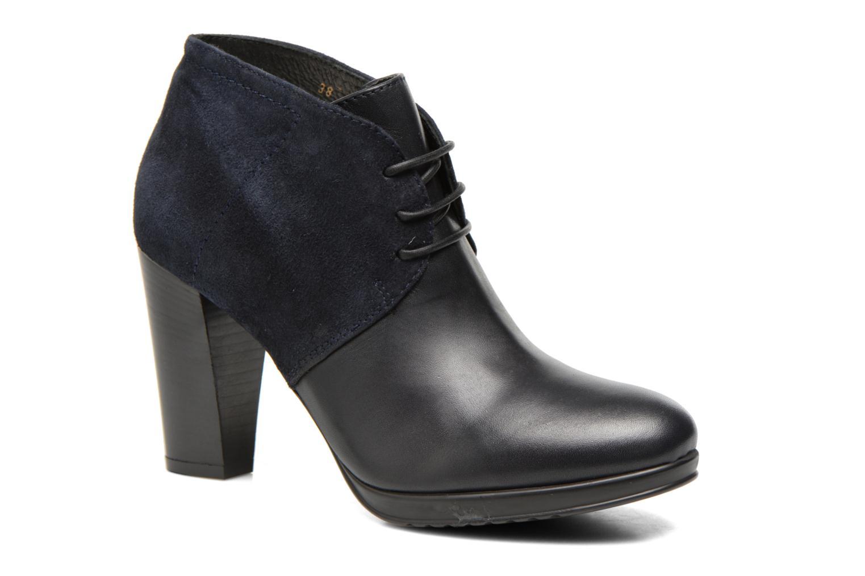 Chaussures à lacets COSMOPARIS Leffi/bi Bleu vue détail/paire