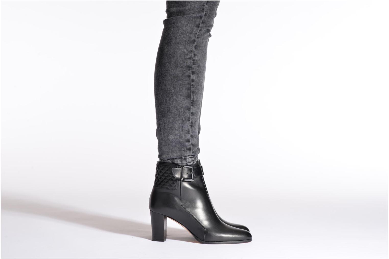 Bottines et boots COSMOPARIS Savea Noir vue bas / vue portée sac
