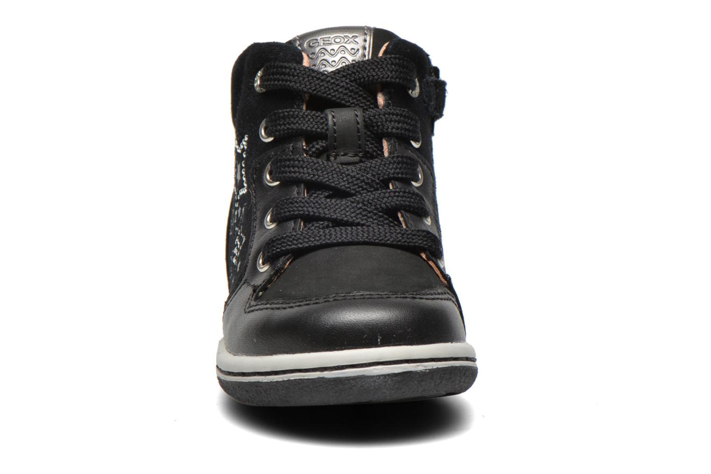 Baskets Geox B Flick G. K Noir vue portées chaussures