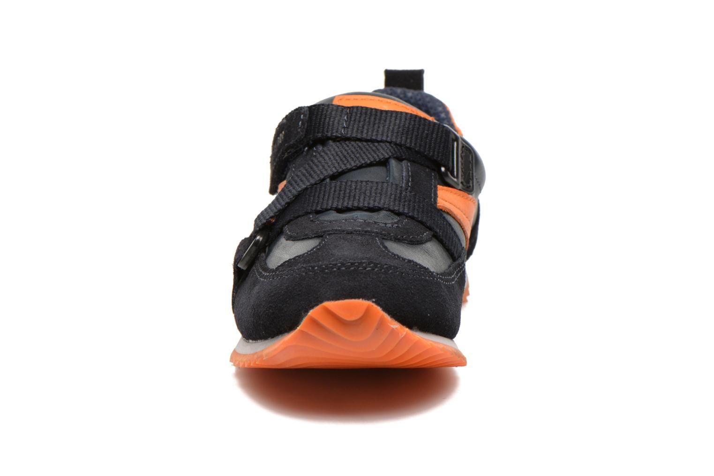 Baskets P-L-D-M By Palladium Filou Cash Bleu vue portées chaussures