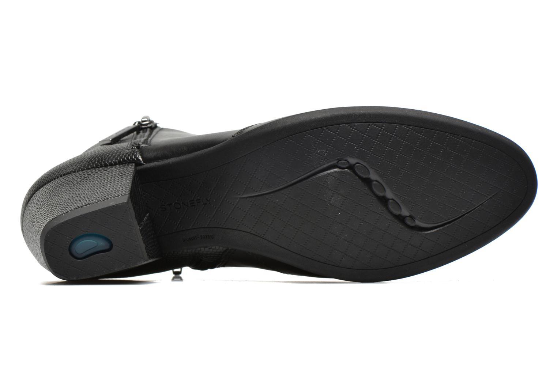 Bottines et boots Stonefly Macy 3 Noir vue haut