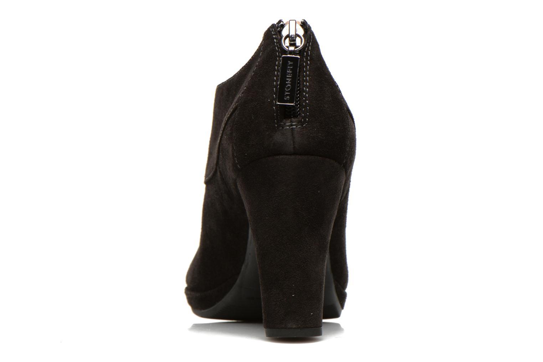 Bottines et boots Stonefly Greta 1 Noir vue droite